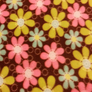 Flower Fleece Patterns