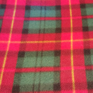 Plaid Fleece Patterns