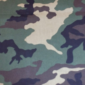 Camo cotton prints