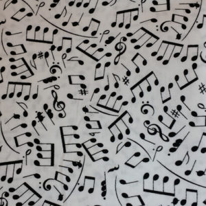 Music Cotton prints
